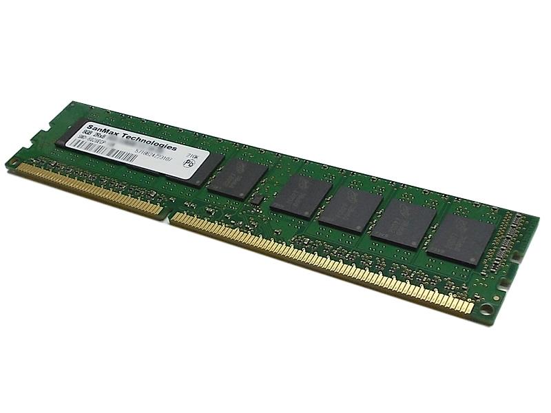 SanMax                     (サンマックス)                SMD-16G28ECP-16K-D [DDR3 U-DIMM ECC]         240pin DDR3-1600 U-DIMM ECC CL11 16GB(8GBx2枚組)SET 1.5Volt Micron/JEDEC サーマルセンサ搭載