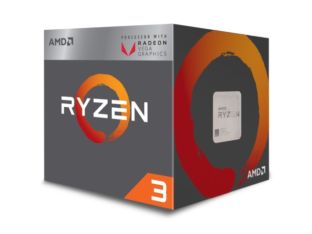 amd ryzen 3 2200g with radeon vega 8 graphics box ryzen 3