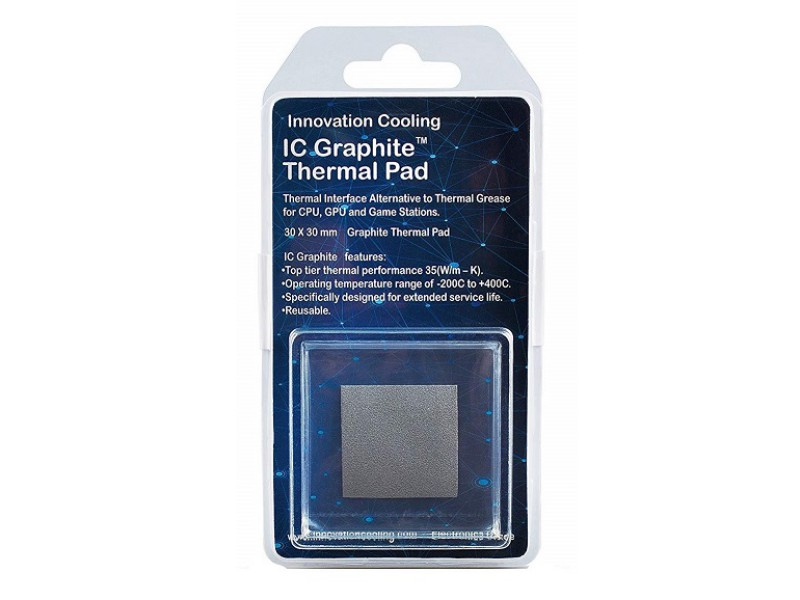 ICG30 IC Graphite Thermal Pad 30×30