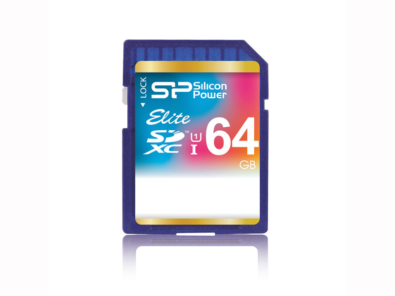 SDXC Card 64GB SP064GBSDXAU1V10 UHS-1
