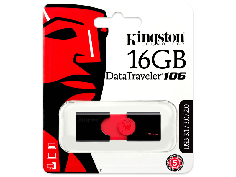 Kingston USB Flash Memory DT106/16GB
