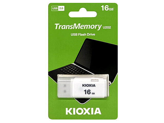 KIOXIA USB Flash 16GB LU202W016GG4