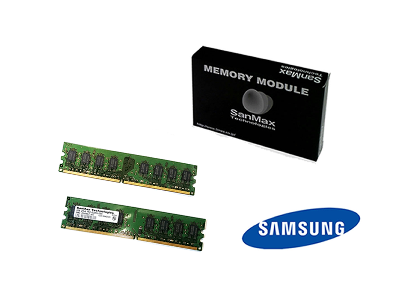 SMD-4G88SP-6E-D DDR2-667 2GBx2 Samsung