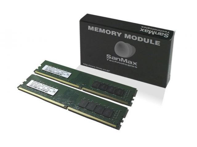 DDR4-2400 16GB(8GBx2枚組) 6,578円 さらに5%クーポン 送料無料 SanMax SMD4-U16G48H-24R-D / 32GB(16GBx2枚組) 12760 【arkアーク】