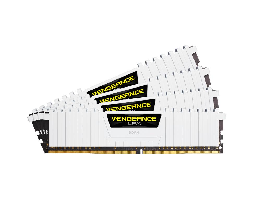 288-Pin DDR4 SDRAM DDR4 2133 Memory Kit 4 x 8GB CORSAIR Vengeance LPX 32GB
