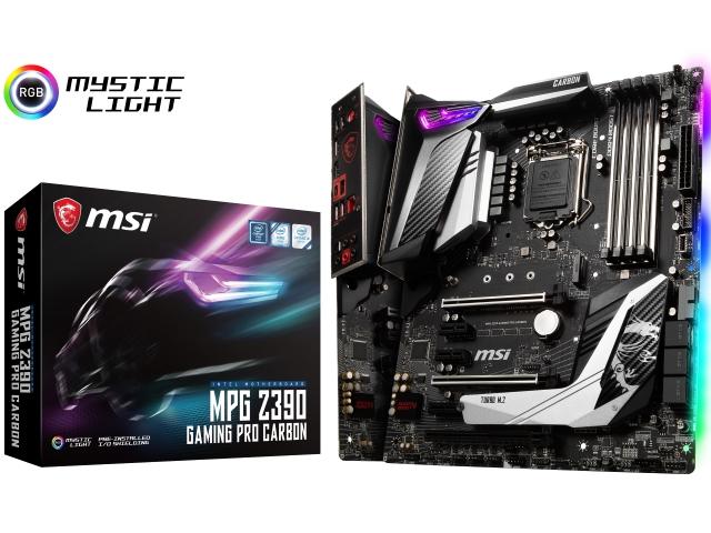 msi mpg z390 gaming pro carbon インテル 300シリーズ lga1151対応