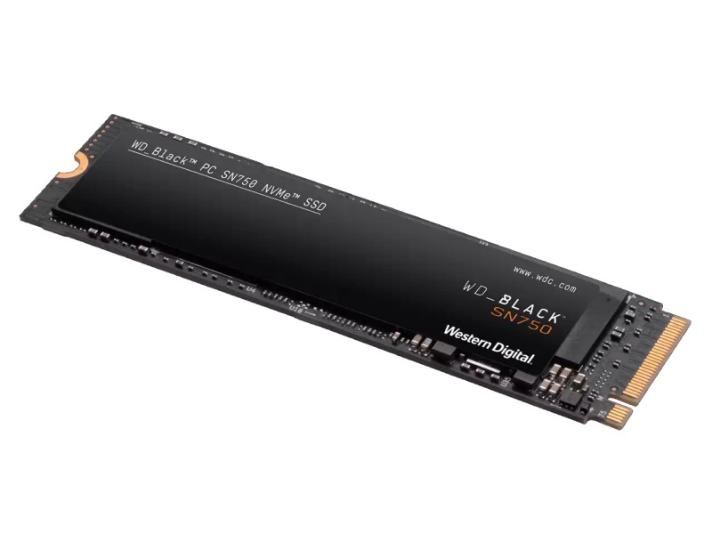 WD Black SN750 NVMe WDS400T3X0C