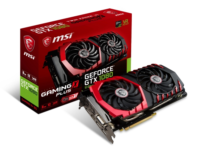 MSI GEFORCE GTX 1080 GAMING X+ 8G 01 PCパーツ グラフィック・ビデオカード PCI-EXPRESS