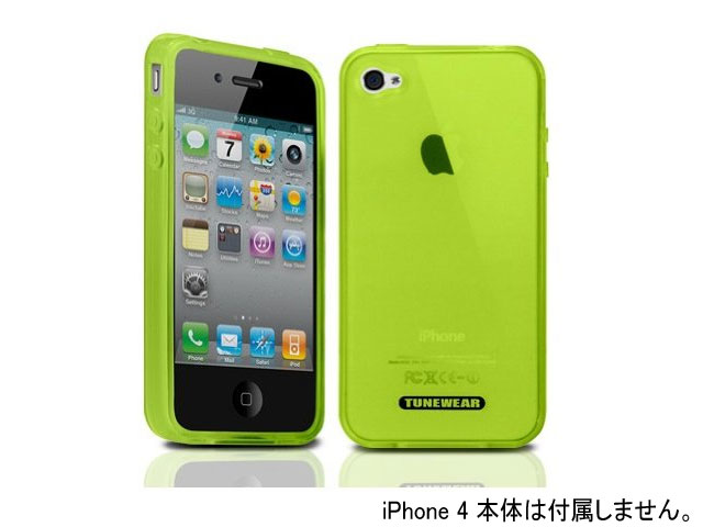8342904ccb TUNEWEAR TUN-PH-000046 SOFTSHELL グリーン 01 モバイル 携帯端末アクセサリー関連 iphone関連