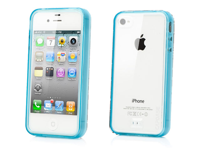 e29e847bfe TIMELY CAPDASE iPhone4S/4用 Fuze DS Clear/Blue SJIH4S-3F03 - 製品 ...