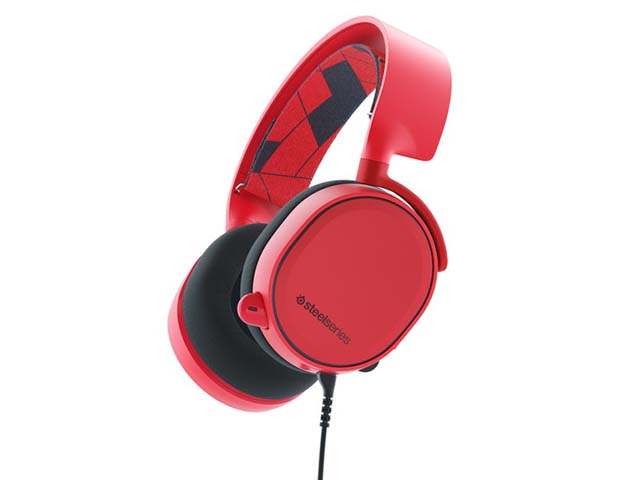 SteelSeries Arctis 3 Solar Red 61435