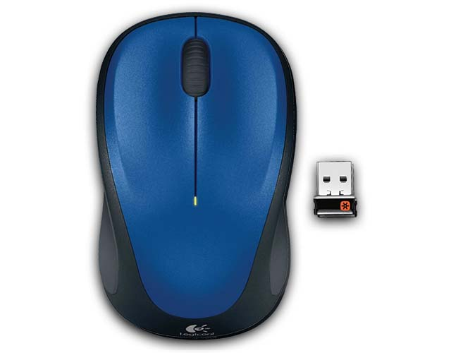 Logicool Wireless Mouse m235 M235rBL