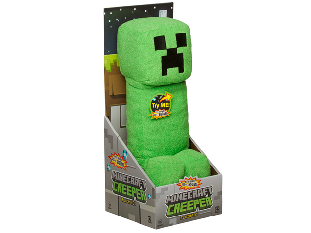 j nx minecraft creeper plush toy with sound minecraft マインクラフト