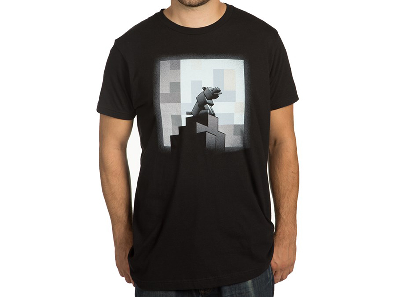 Minecraft One Wolf Moon Premium Tee (S)