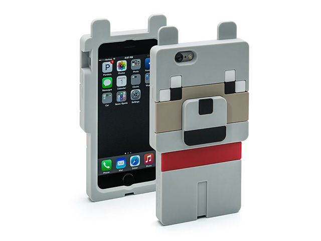 95fcfded5e Minecraft Wolf Character Case iPhone6 01 モバイル 携帯端末アクセサリー関連 iphone関連